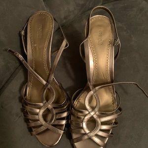 Bronze Sandal Heel